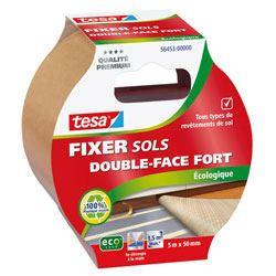 TESA Ruban adhésif  Double face Fort ecoLogo - 5m x 50mm