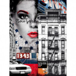 Affiche papier -  Fashion City   - Braun Studio  -  60x80 cm