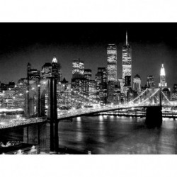 Affiche papier -  Brooklyn Bridge  - Silberman  - 60x80 cm