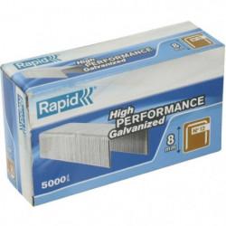 RAPID 5000 agrafe n°12 Rapid Agraf 8mm