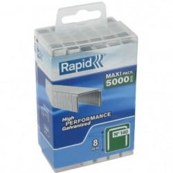 RAPID 5000 agrafes n°140 Rapid Agraf 8mm