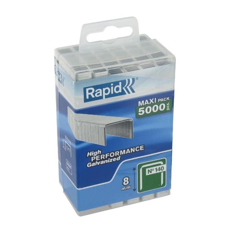 Agrafes Agraf 8mm 5000 Rapid N140 Pokzutix