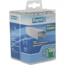 RAPID 5000 agrafes n°140 Rapid Agraf 14mm