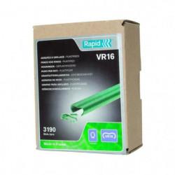 RAPID 3190 agrafes VR16 vertes