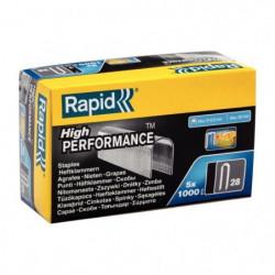 RAPID Agrafes galvanisées pour câbles - N°28/11 mm