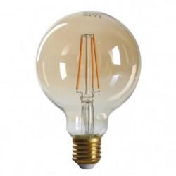 EXPERTLINE Ampoule LED filament ambrée E27 4 W équivalent a