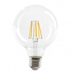 EXPERTLINE Ampoule LED filament E27 G95 SMD 6 W SMD céramiqu