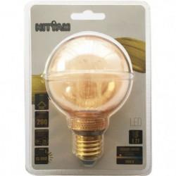 Ampoules LED E27 G80 Déco Nouvelle Génération - 4 W équivale