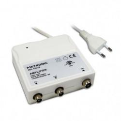 METRONIC 432176 Amplificateur d'intérieur a réglage de gain