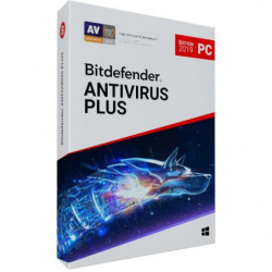 Bitdefender Antivirus Plus 2019 - 1 an - 1 PC
