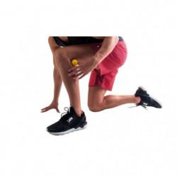 PURE2IMPROVE Balle de massage 5,0 cm - Fitness  - Noir/Rouge
