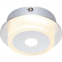 GLOBO Applique aluminium L10 x l10 x h4 cm- Chrome