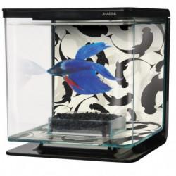 MARINA Kit aquarium équipé Ying Yang pour betta - 2 L