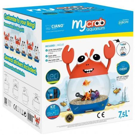 Ciano Aquarium 5 Ludique Pour L Poisson 7 Mycrab E9I2WHD