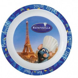 Fun House Disney ratatouille assiette micro-ondable pour enf