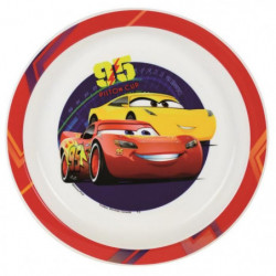 Fun House Disney Cars assiette micro-ondable pour enfant