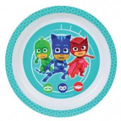 Fun House Pyjamasques assiette micro-ondable pour enfant