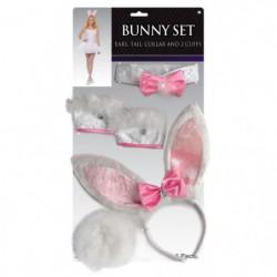 AMSCAN Set Bunny Accessoire Adulte