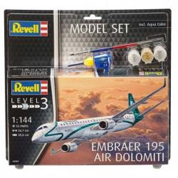 REVELL Model-Set Embraer ERJ 195 - Maquette