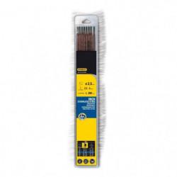 STANLEY 460726  Lot de 10 électrodes inox - Ø 2,5 mm - L 300