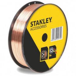 STANLEY 460618  Bobine fil acier pour soudure MIG/MAG avec g