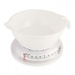 TERRAILLON Balance de cuisine mécanique T206 - 3 kg - Bol 3