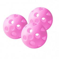 LINKS CHOICE Lot de 24 Balles d'Entraînement de Golf - Rose