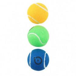 CHRONOSPORT Set de 3 Balles de Tennis Ass. Fluo En Sachet