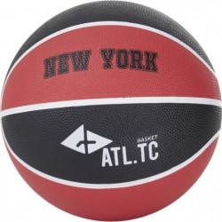 ATHLI-TECH Ballon de basket-ball New York - Taille 5 - Noir