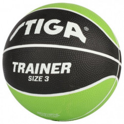 STIGA Ballon de basket-ball Trainer - Vert et noir - Taille