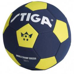 STIGA Ballon de football Coupe du monde 2018 - Bleu et jaune