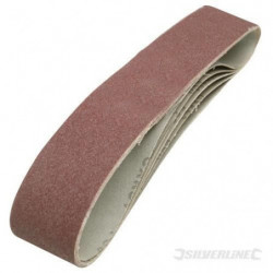 5 bandes abrasives 50 x 686 mm