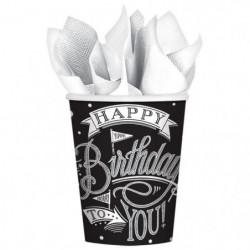 AMSCAN Lot de 18 Gobelets carton Hooray It's Your Birthday 2