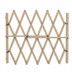 NORDLINGER PRO Barriere Pressfix extensible en bois  - Pour