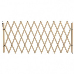 NORDLINGER PRO Barriere Stopmax extensible en bois  - Pour c