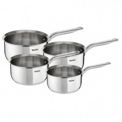 TEFAL A702S414 Intuition Batterie de cuisine 4 pieces - Inox