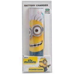 Tribe Batterie Externe Minions - 2600 Mah