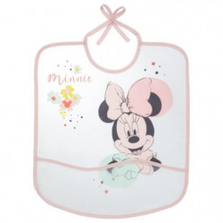 BABYCALIN Bavoirs 1er âge avec poche Minnie Floral - Impress
