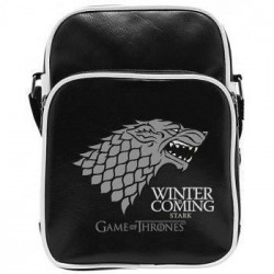 Sac Besace Game Of Thrones - Stark - Vinyle Petit Format - A