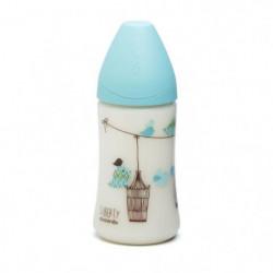 SUAVINEX Pack de 2 biberons Baby Bottle - 270 ml - Bleu