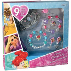 DISNEY PRINCESSES Bijoux 9 Pieces