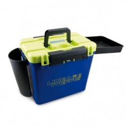 LINEAEFFE Boîte banc Super Box - Bleu, jaune et noir