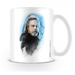 Mug Star Wars Les derniers Jedi - Luke Skywallker dessiné