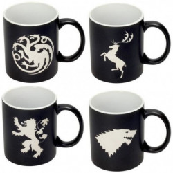 Set de 4 mugs - Game Of Thrones - Collector's Edition