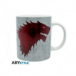 Mug Games Of Thrones - 320 ml - The North remembers- avec bo