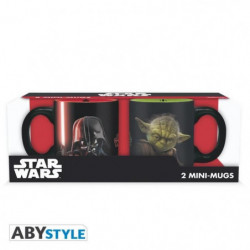 Set de 2 mugs Star Wars - 2 mugs a espresso - 110 ml - Vador