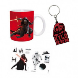 Pack Mug + Porte-clés + Sticker Star Wars - Kylo Ren - ABYst