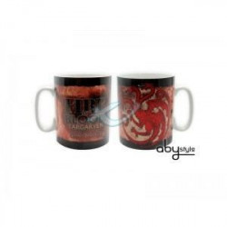 Mug Games Of Thrones - 460 ml - Targaryen - porcelaine avec