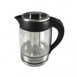 BEPER BB.103 Bouilloire électrique en verre - 1,8 L - 2200 W