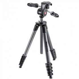 MANFROTTO Kit trepied COMPACT ADVANCED NOIR  + rotule 3D